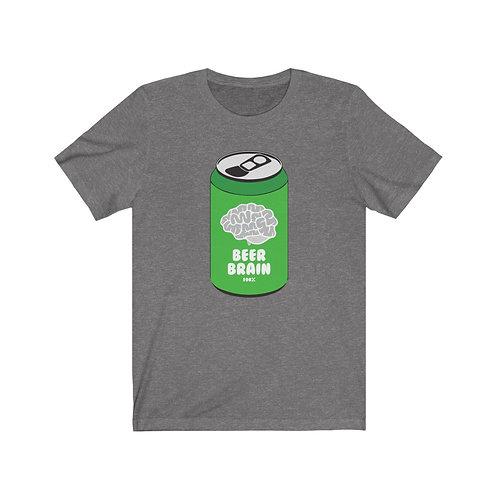 Beer Brain - Jersey Short Sleeve Tee