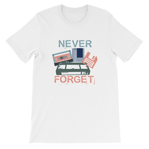Never Forget - Retro
