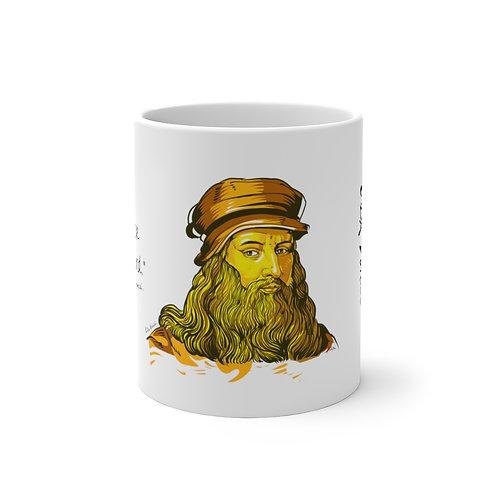 Leonardo DaVinci - Learning Kuotable - Color Changing Mug