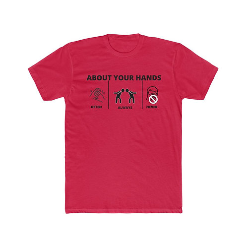 About Your Hands - Tshirt - BananasLab