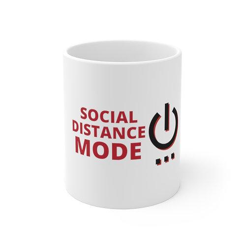 Social Distance Mode On - BananasLab Mug 11oz