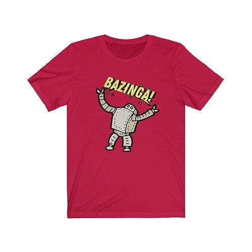 Bazinga Robot - BananasLab Short Sleeve Tee