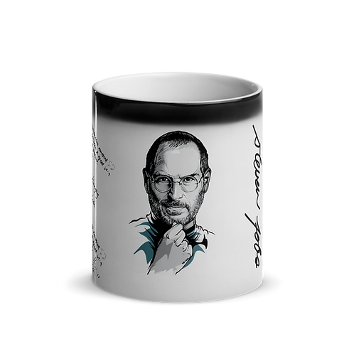 Steve Jobs - Kuotables Glossy Magic Mug