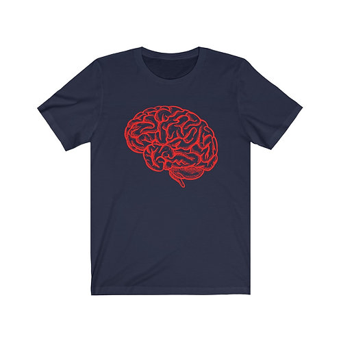 Brain - Think Different - Short Sleeve Tee