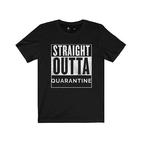 Straight Outta Quarantine - BananasLab Short Sleeve Tee