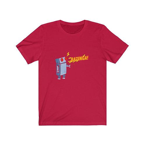 Banzinga Robot - BananasLab Short Sleeve Tee