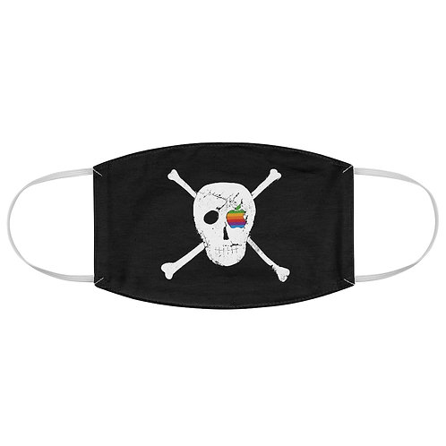 Apple - Pirates Not The Navy Flag - Fabric Face Mask