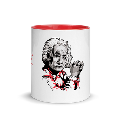 Albert Einstein - Kuotables Mug with Color Inside