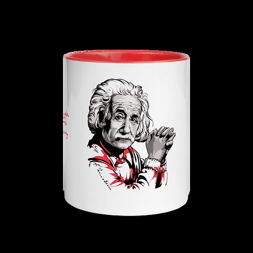 Albert Einstein - Kuotables Mug with Color Inside