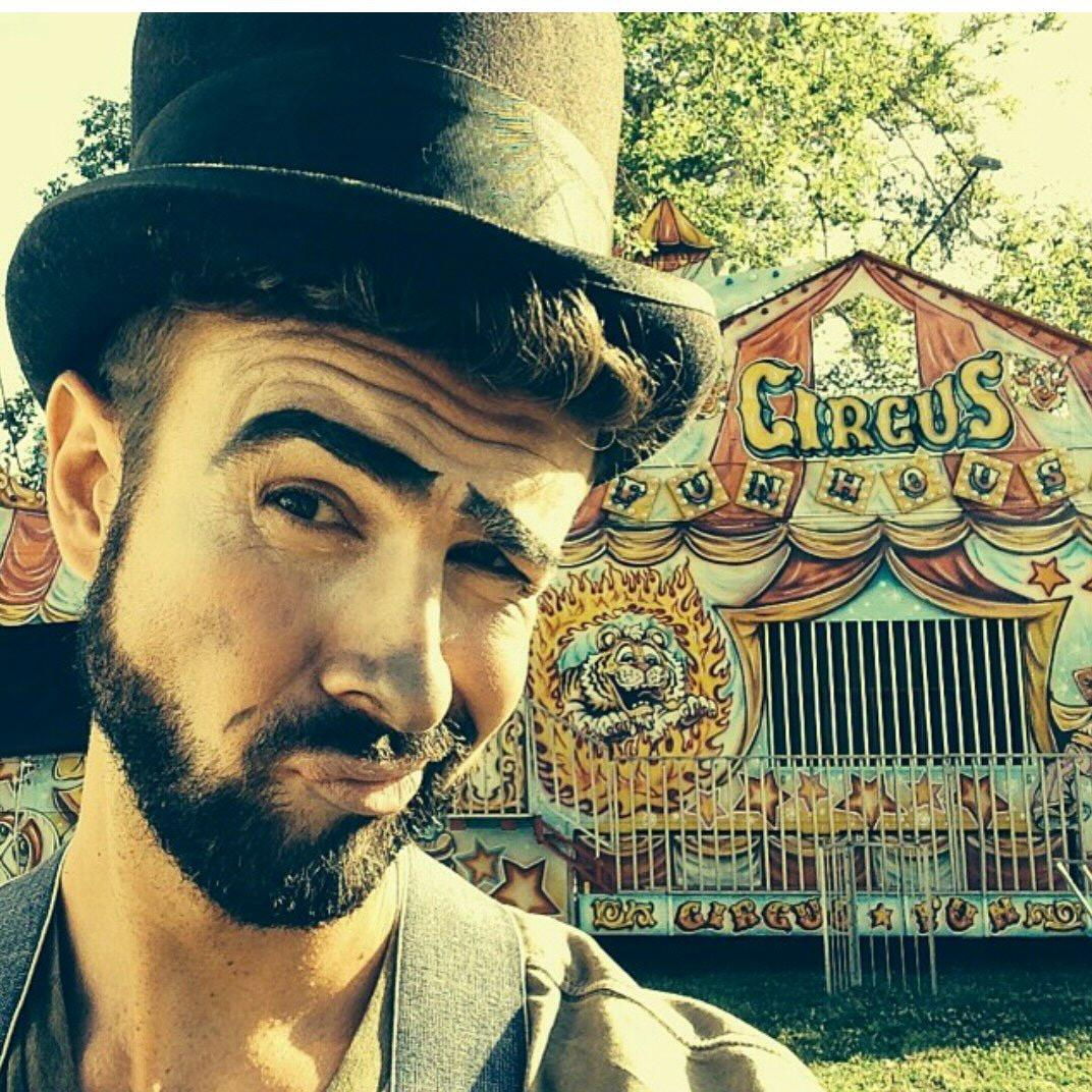 Clown make-up music video