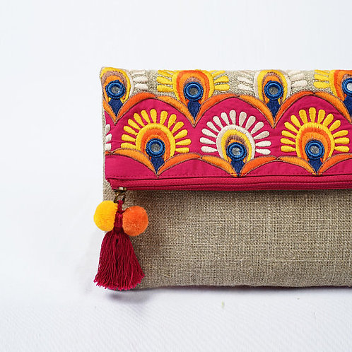 foldover purse