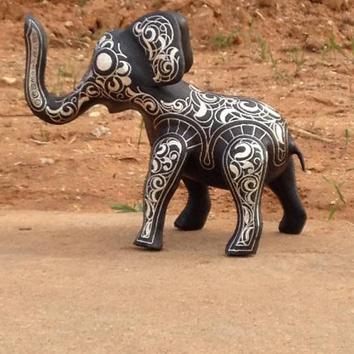 inlay craft - elephant
