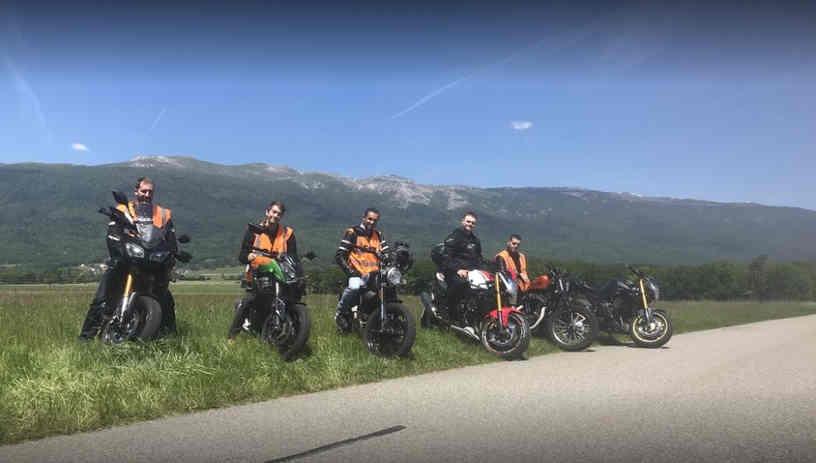 cours moto à genève