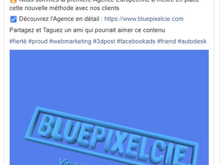 Facebook: Le Post 3D arrive !