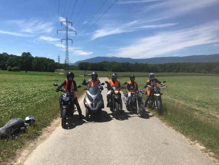 moto ecole à geneve