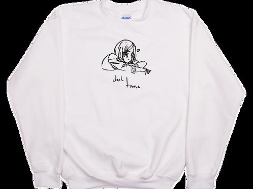 Jail Time Crew Neck Sweatshirt