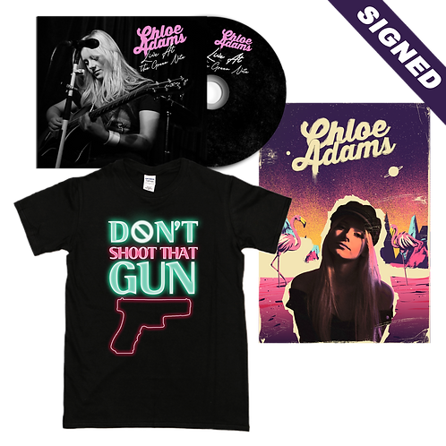 'Live At the Green Note' Signed EP + Tee + Poster Bundle