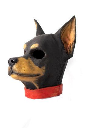 Mascara de doberman