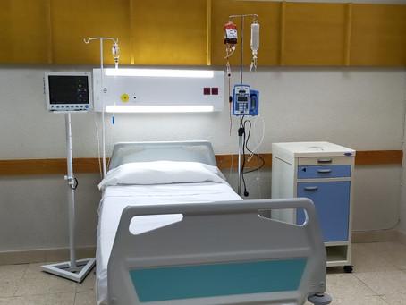 Atrezzo de hospitales en Estoy Vivo