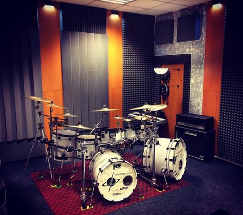 Nové prostory pro bicí lekce