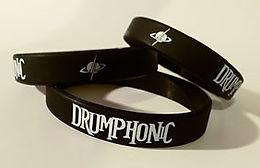 silikonový náramek e-shop drumphonic