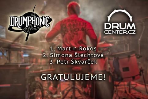 Vyhlášení soutěže o nejlepší DrumCover!