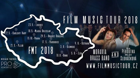 FILM MUSIC TOUR 2018 - Začíná!