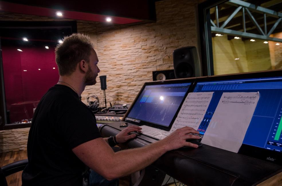 Piano & Celo ve studiu 2017