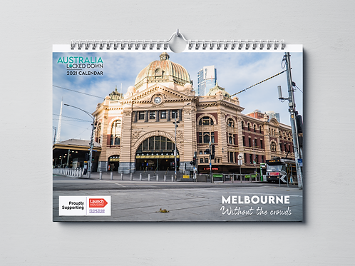 2021 Calendar: Melbourne Without the Crowds