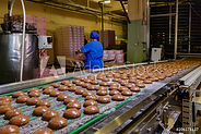 Confectionery factory. Production line o