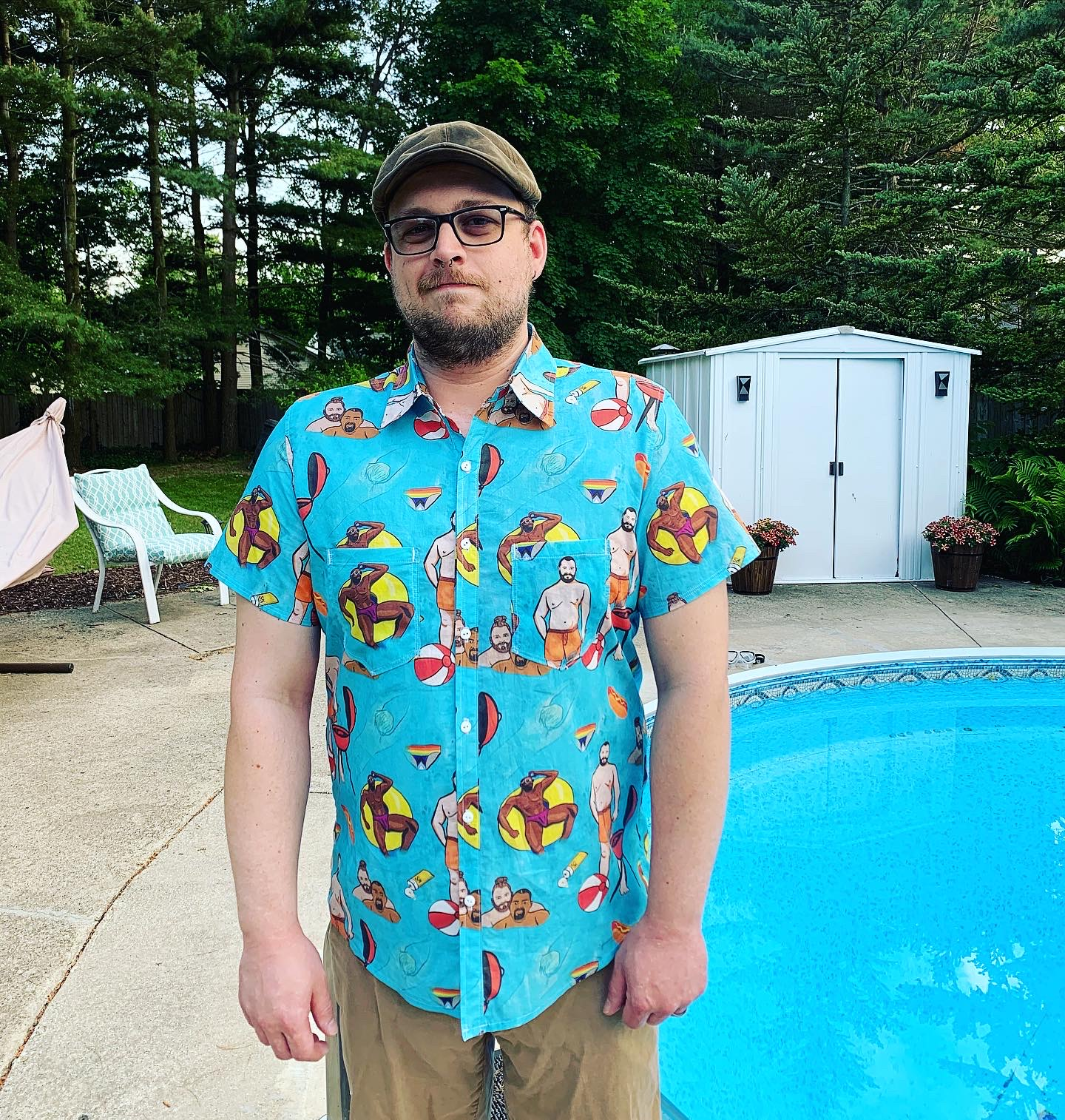 BBQ Summer Shirt: Front