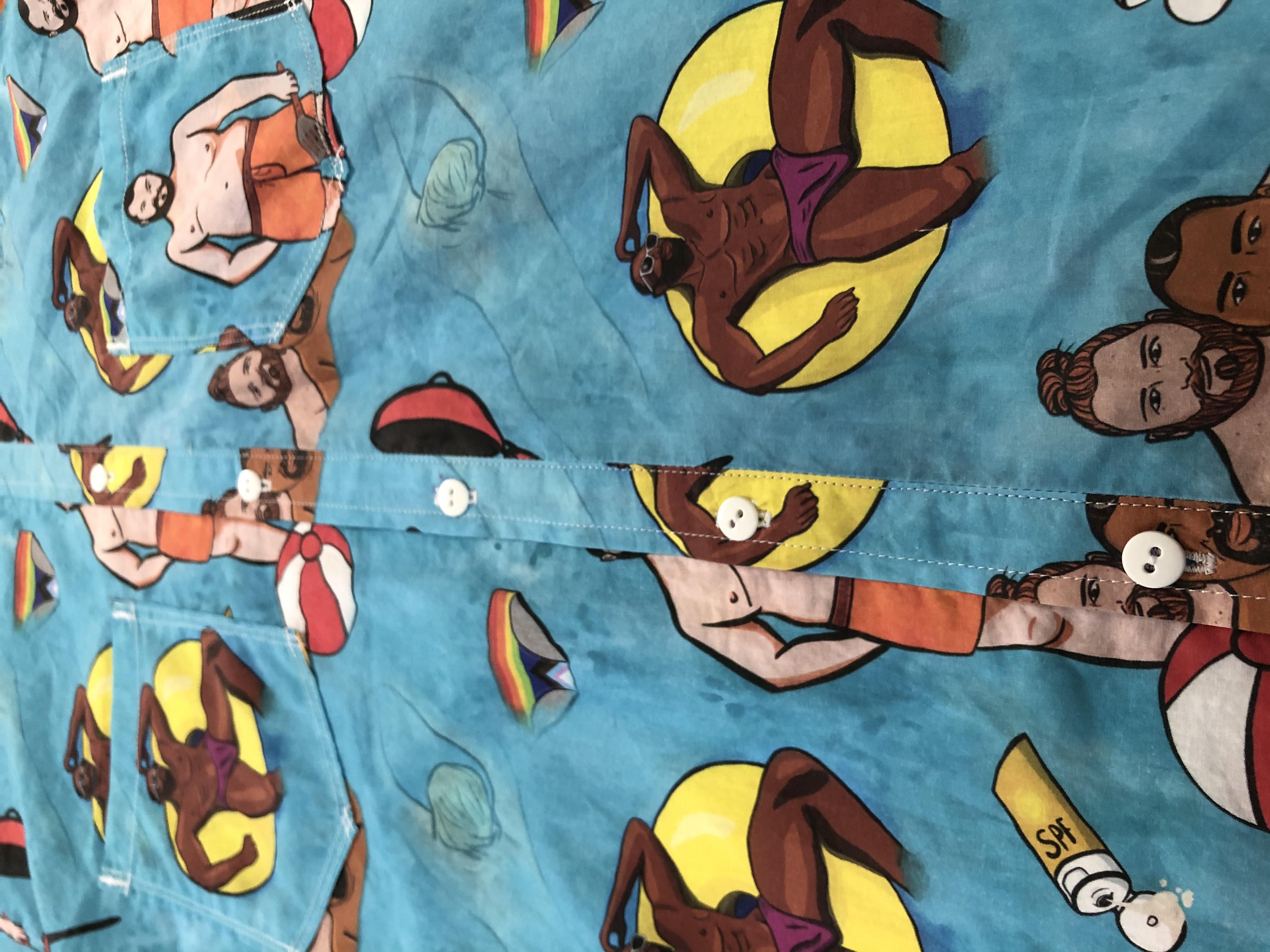 BBQ Summer Shirt: Detail Shot