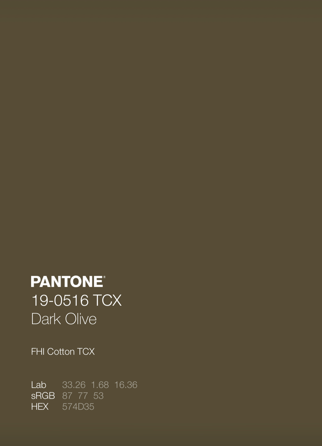 """Mon Petit Chou"" Pantone Colors"