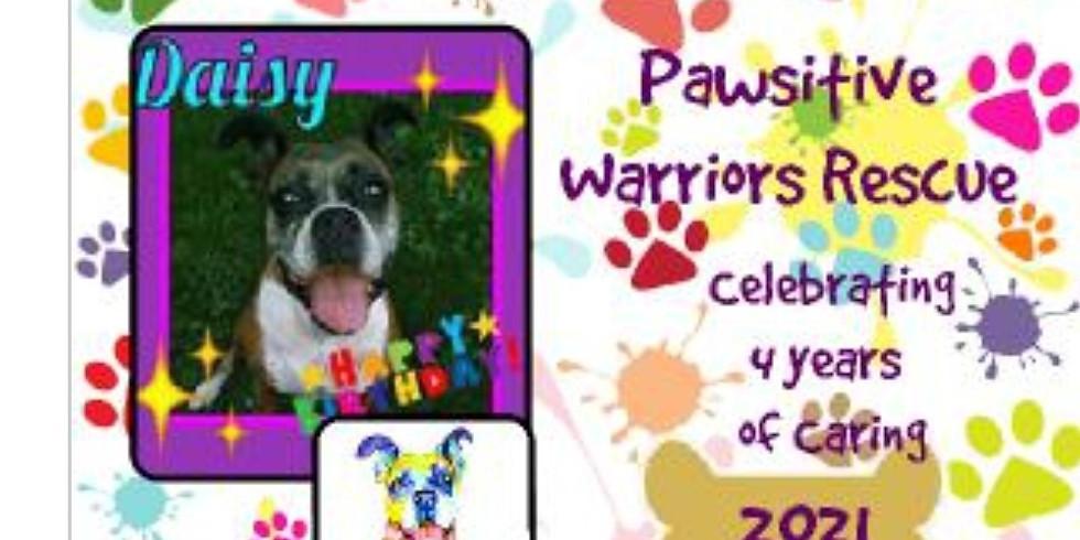 Pawsitive Warriors Rescue 2021 Calendar NOW AVAILABLE