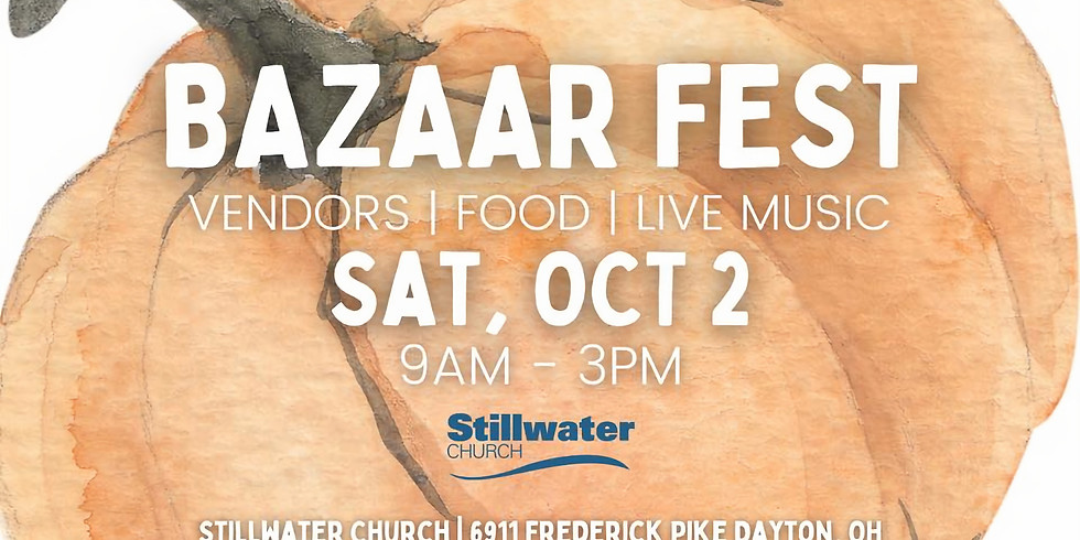 Pwr Attending Bazaar Fest (we are guests)
