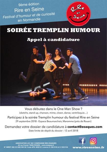 Soirée Tremplin de l'Humour - Rire en Seine