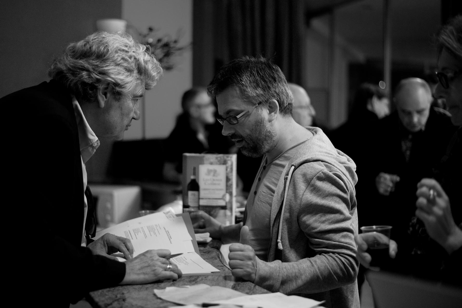 Fabrice Laurent et Benoit Agoyer