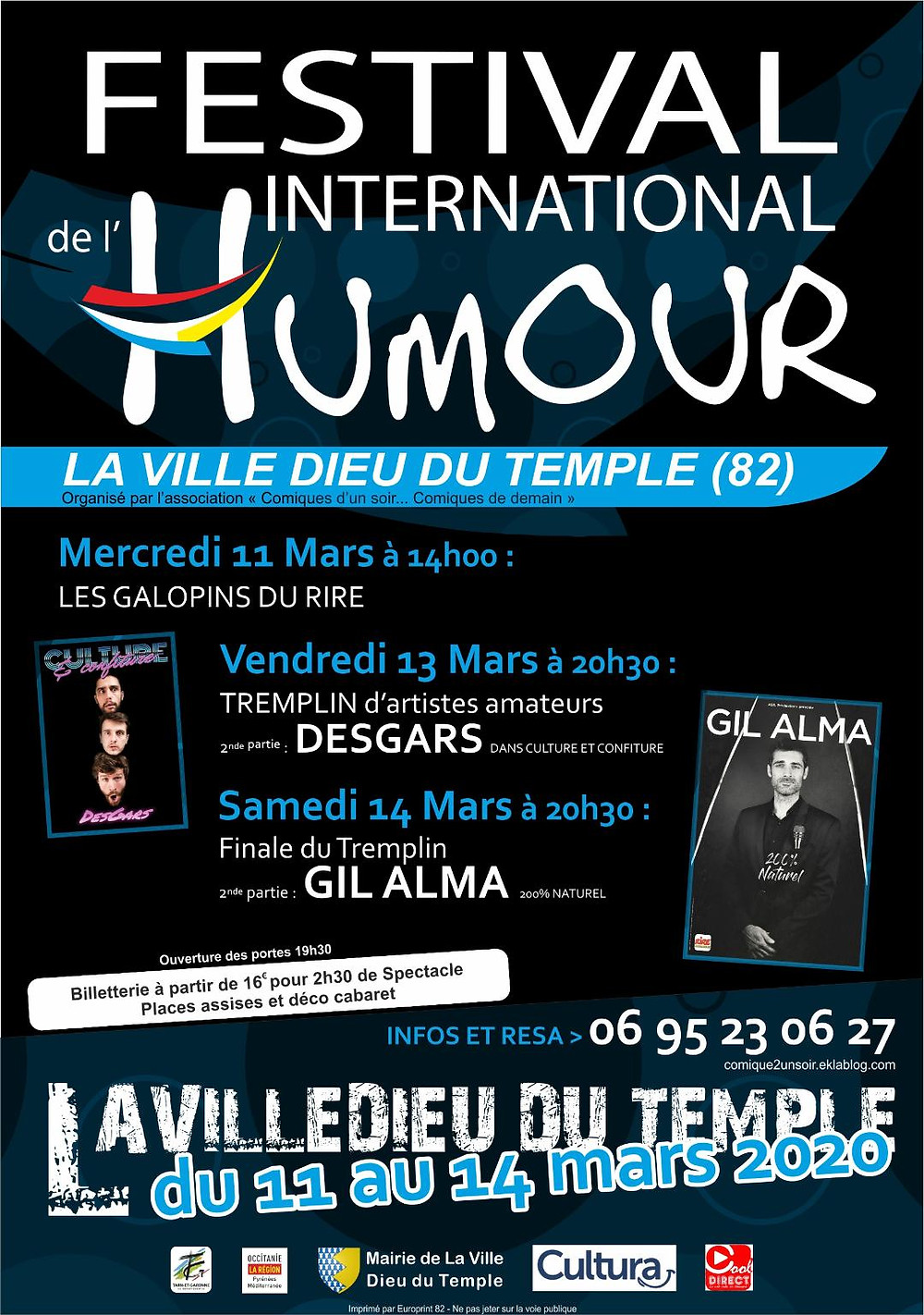 Festival International de l'Humour de Ville Dieu Du Temple