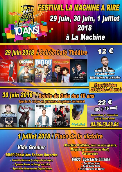 Festival La Machine à Rire