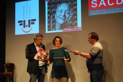 Chloé Martin, lauréate 2014