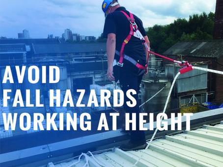 Avoid 4 Common Fall Hazards Working At Height