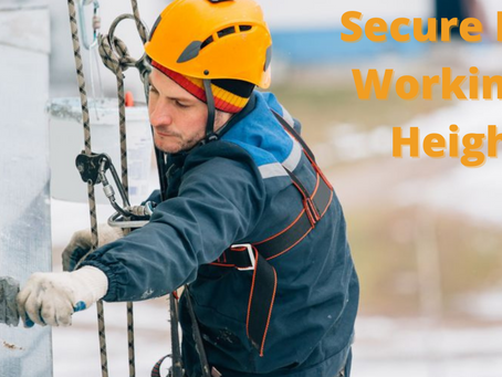 Secure Lives Working At Heights