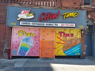 Rachel Rankin - Chow Time, 1418 Mermaid Avenue
