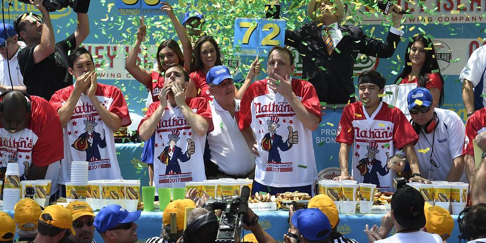 Nathan's Famous Hotdog Eating Contest