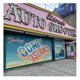 Megan Watters - Eldorado Bumper Cars, 1216 Surf Avenue