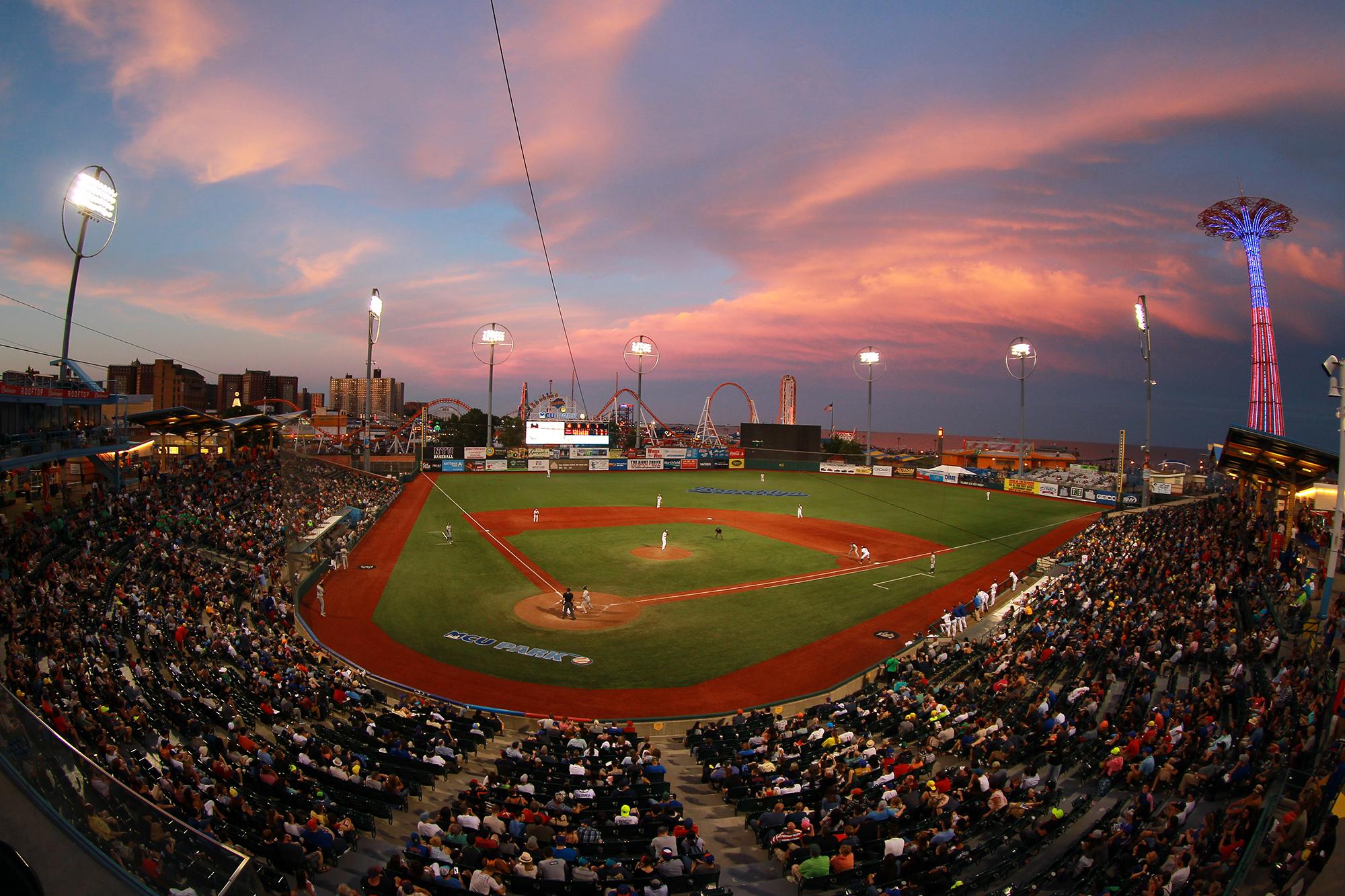 Ballpark Scene