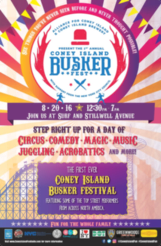 Coney Island Busker Fest