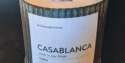 Casablanca Rustic cedar wood wick soy candle