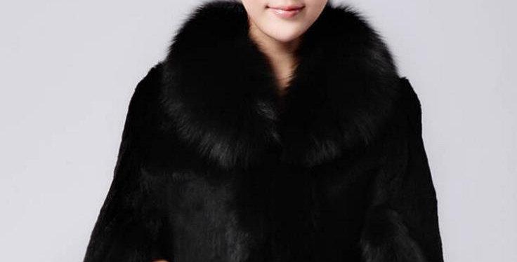 Fur Faux Cape Overcoat