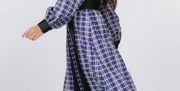 Plaidiful Maxi Dress
